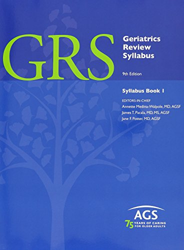 Geriatrics Review Syllabus, 3 Vol Set