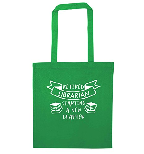 new starting Retired Tote Creative librarian Green a Bag Flox chapter nxq0Xfwq7
