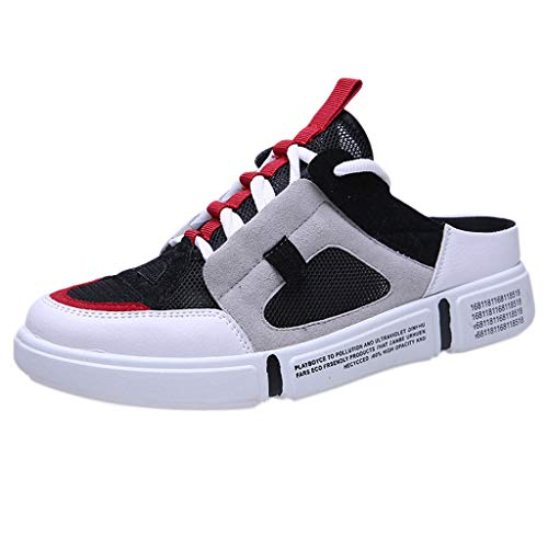 Shoes Mens, Mesh Breathable Lightweight Comfortable Closed-Toe Sports Shoes are Breathable in Summer Shoe