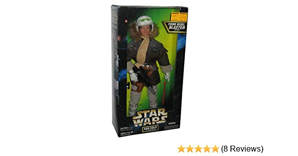 Star Wars Han Solo in Hoth Gear 12 Action Figure Kenner 27916