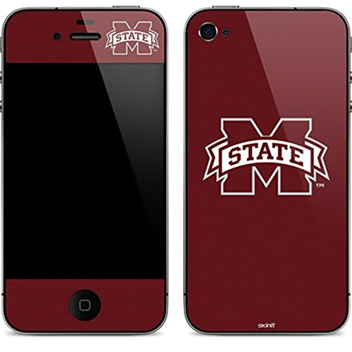 Skinit Protective Skin for iPhone 4G, iPhone 4GS, iPhone (MISSISSIPPI STATE UNIVERSITY)) by Skinit