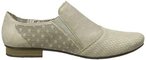Rieker 51967 Women Loafers - Mocasines Mujer Beige - Beige (champignon/marble / 61)