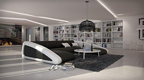 Emejing Wohnzimmer Couch Schwarz Pictures - Amazing Design Ideas ... Wohnzimmer Couch Schwarz