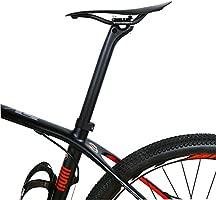 Yareta Carbono Tija para sillín de Bicicleta, Color Negro (Black ...