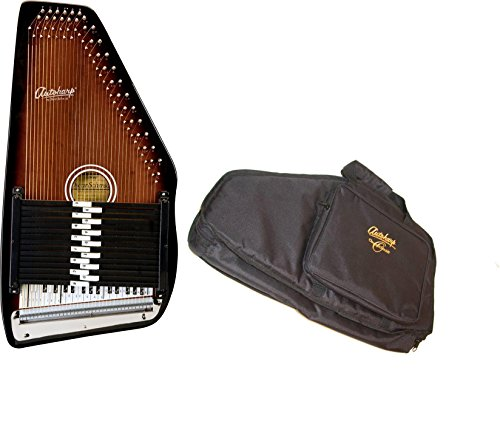Oscar Schmidt 15 Chord Autoharp w/ Gig Bag, Maple Body, Sunburst Finish, OS15B by Oscar Schmidt