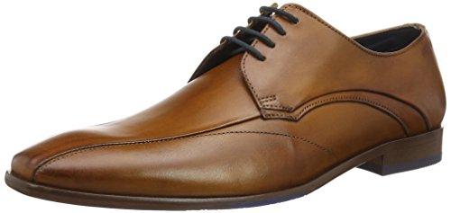 Daniel Hechter 811218021100, Zapatos de Cordones Derby para Hombre Marrón (Cognac)