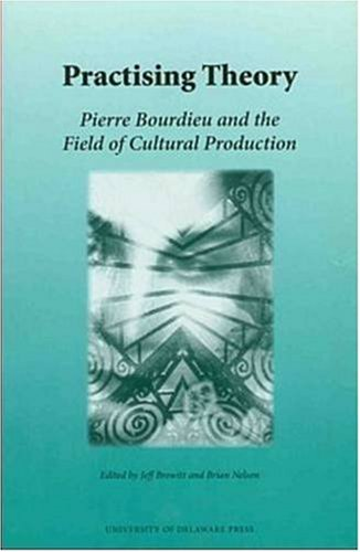 Practicing Theory: Pierre Bourdieu And The Field  Of Cultural Production (Monash Romance Studies) (Pierre Bourdieu The Field Of Cultural Production)