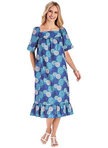 Wright Casual Ruffle Carol Dress Gifts Carol Teal Wright xSznnE