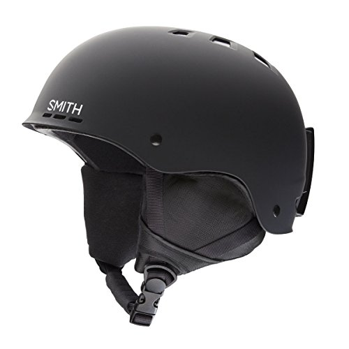 Smith Optics Unisex Adult Holt Snow Sports Helmet - Matte Black Large (59-63CM)