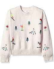 Gymboree Girls' Big Long Sleeve Knit Sweater