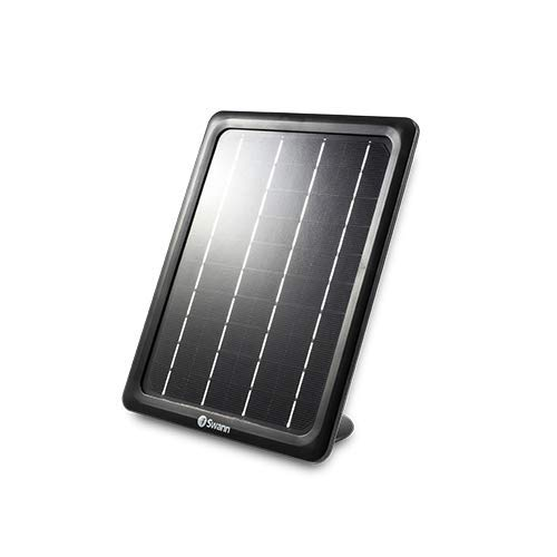 Swann SWWHD-INTSOL-GL ADD ON Solar Panel for SWWHD-Intcam, Black