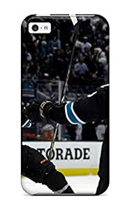 Premium SSCFNiw8435UlBuj Case With Scratch-resistant/ San Jose Sharks Hockey Nhl (19) Case Cover For Iphone 5c