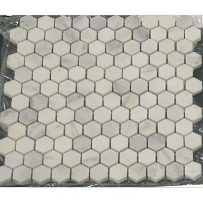 bianco-white-carrara-marble-hexagon-1-polished-mosaic-tile