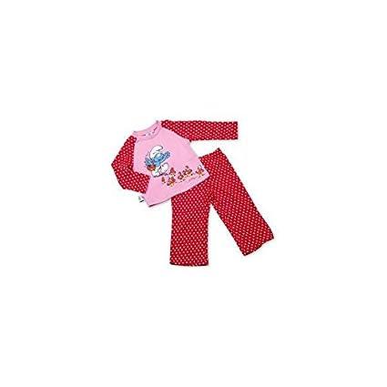 Pijama rosa setas Los Pitufos - TALLA 3-4: Amazon.es: Bebé