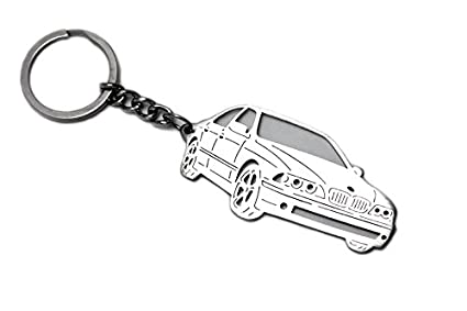 Amazon Com Stainless Steel Keychain Suitable For Bmw 5 Serie E39