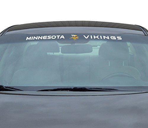 Minnesota Vikings Window - Team ProMark NFL Minnesota Vikings Windshield Decal, Purple, Standard