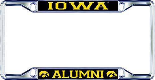 iowa hawkeye license plate frame - 8