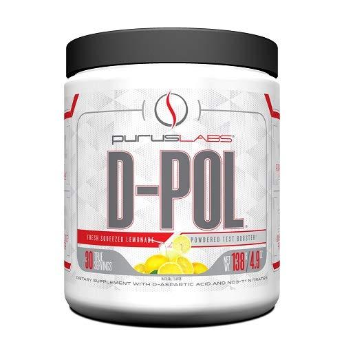 Purus Labs D-POL Fresh Squeezed Lemonade, Powder, 30 Servings