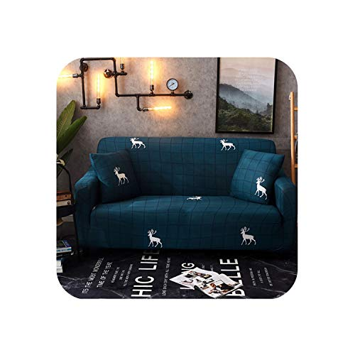 Sofa-Slipcovers Tight Wrap All-Inclusive Slip-Resistant Sofa Cover,05,4-Seater 230-300cm -