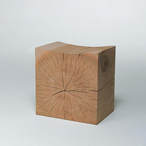 Heruai Natural logs Pier Hymenium wooden root stool ornaments wooden pier base tea Table stool bracket stump wooden bench , b (Arm Stump)