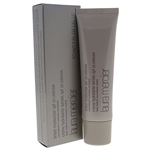 Laura Mercier Tinted Moisturizer SPF 20 Foundation for Women, Cameo, 1.7 Ounce ()