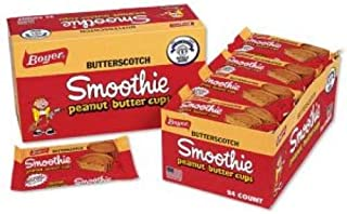 product image for Boyer Candy Butterscotch Peanut Butter Smoothie Cup, 1.6 Ounce -- 288 per case.