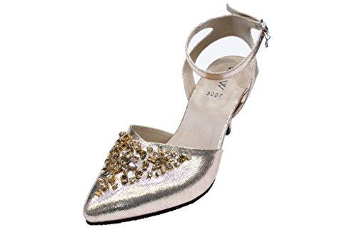 Uk Pour Sandales Wear Doré Walk amp; Femme fwBxTq7