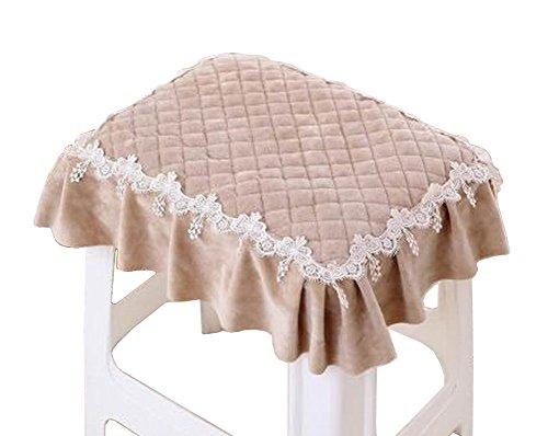 Rectangular Cushion Stool Pad Stylish Stool Pad Coffee Color by Black Temptation