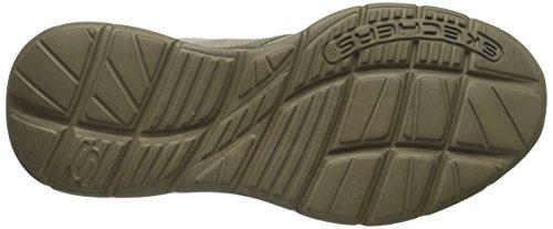 Skechers USA Mens Glides adamant Slip-On Loafer Taupe