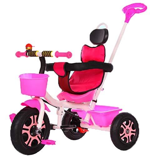 YUMEIGE 子供用三輪車 ピンク 子供三輪車チタン空ホイール1-6歳誕生日子供ギフト幼児ベビーカートライク荷重重量100キログラム YUMEIGE 子供用三輪車 得ることができます B07QWX3MNG ピンク, ローレル ファッション:1bfade00 --- rigg.is