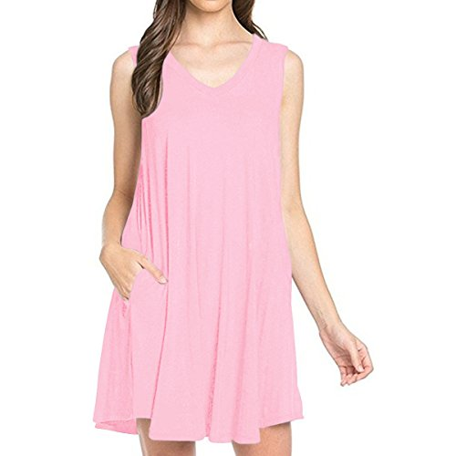 V-Neck Drawstring Knit Dress - 7