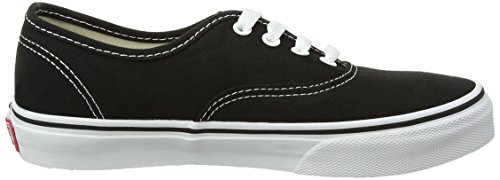 enfant Vans Black White True K Authentic mixte Baskets mode Noir RpX7RU