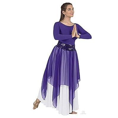Eurotard Womens Sheer Devotion Single Layer Overlay - 39768