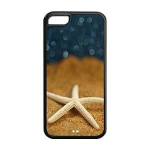 FEEL.Q- Unique Custom TPU Rubber iPhone 4s Case Cover - Sea Star