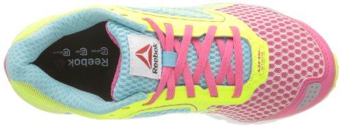 Donna Sneaker blanc One pink Reebok Guide neon 36 hydro Blue white Bianco BqEXata