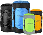 Frelaxy Compression Sack, 40% More Storage! 11L/18L/30L/45L/52L Compression Stuff Sack, Water-Resistant &