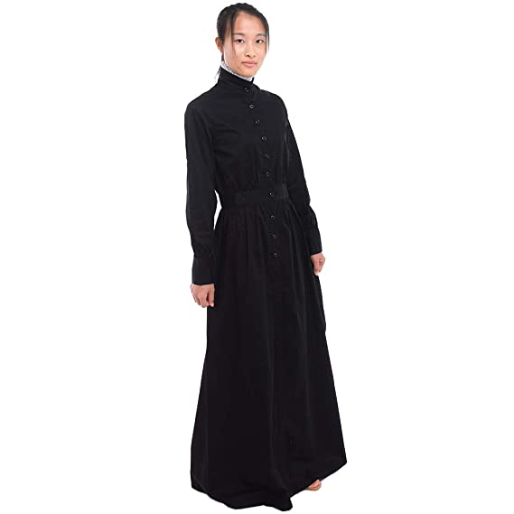 1900s, 1910s, WW1, Titanic Costumes Pioneer Woman Costume Prairie Dress Colonial GRACEART  $25.99 AT vintagedancer.com