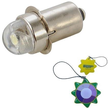 HQRP Bombilla LED 45 Lúmenes 0.5W para Luces de iluminación portátil / Linternas / Faros