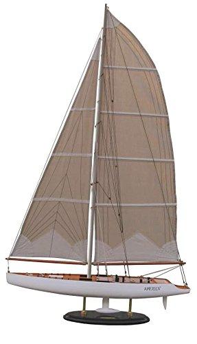 Batela America Model Boat, Legno, Bianco Marronee, 14 x 74 x 15.5 cm