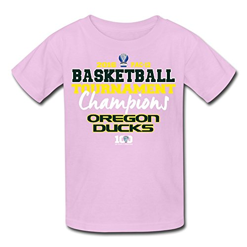 CXY Youth Oregon Ducks 2016 PAC 12 Men's Basketball Champions Kids T-Shirt (Men Champion Sweatsuits compare prices)