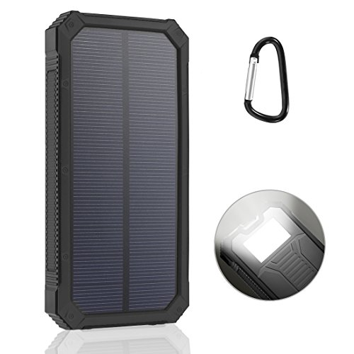 LANIAKEA-15000mAh-Solar-Charger-Waterproof-Solar-Power-Bank-Battery-Pack-Dual-USB-Solar-Panel-Charger-for-iPhone-Samsung-Galaxy-Smart-phones-and-Other-USB-Devices-Orange