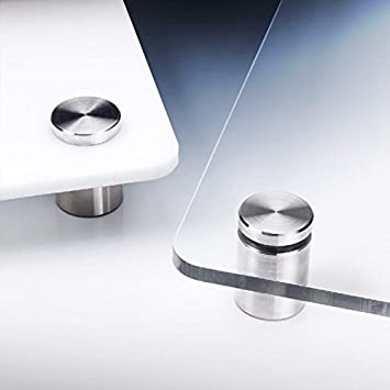 Ma/ße: 100 x 100 cm PLEXIGLAS/® kratzfest UV100 Optical 0A570 HC farblos als Tischauflage K/üchenr/ückwand St/ärke: 3 mm