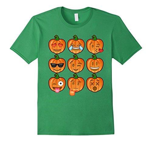 Mens Pumpkin Emoji Halloween Shirt Costume Ideas 2017 Medium Grass (Men Halloween Costumes Ideas 2017)