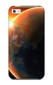 2010578K69175985 New Arrival Rising Sun In Space Case Cover/ 5c Iphone Case