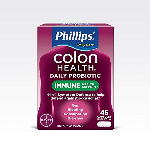 Colon Health Supplement - Phillips' Colon Health Probiotic Supplement,