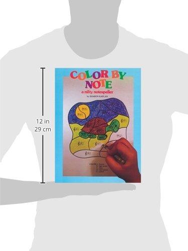 Color by Note, Bk 1: A Nifty Notespeller: Sharon Kaplan ...