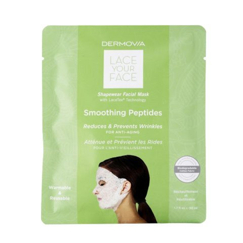 Mask Single (LACE YOUR FACE Compression Facial Mask - Smoothing Peptides - Single Mask)
