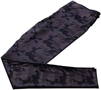 スタイリッシュなプリントデザインクイックドライパンツランニングフィットネスズボンヨガパンツ、#06