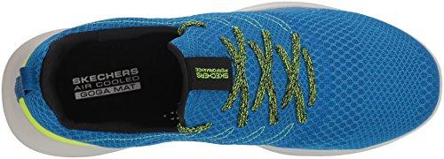 Skechers Mojo Run 54845 Go Sneaker Men's Blue Lime rqRgrnA