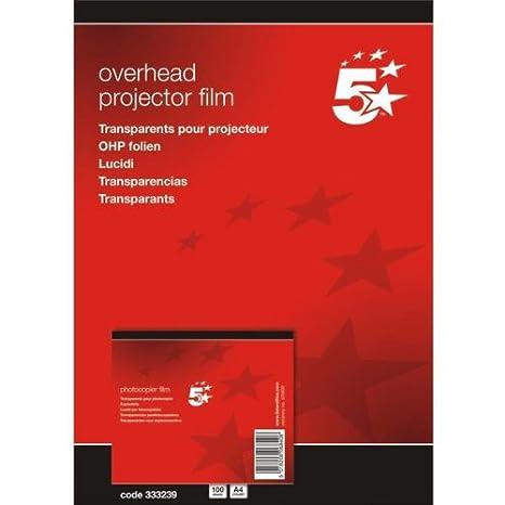 5 Star(TM) - Papel de impresión y fotocopia DIN A4 poliéster 0,10 ...